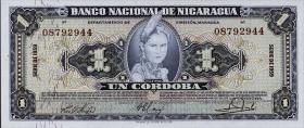 Nicaragua P.099c 1 Cordoba 1959 (1)