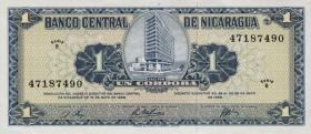Nicaragua P.115 1 Cordoba 1968 (1)