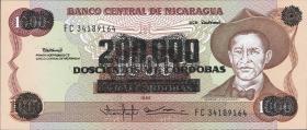 Nicaragua P.162 200.000 auf 1000 Cordobas (1990) (1)