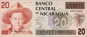 Nicaragua P.176 20 Cordobas (1990) (1)