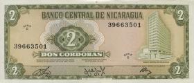 Nicaragua P.121 2 Cordobas 1972 (1)