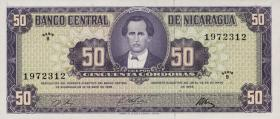 Nicaragua P.119 50 Cordobas 1968 (1)