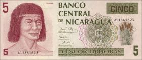 Nicaragua P.174 5 Cordobas (1991) (1)