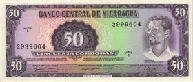 Nicaragua P.131 50 Cordobas 1979 (1)