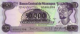 Nicaragua P.148 50000 auf 50 Cordobas (1987) (1)