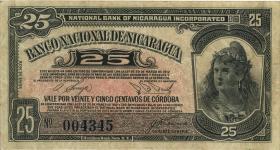Nicaragua P.080 25 Centavos 1938 (3)