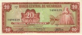 Nicaragua P.129 20 Cordobas 1978 (1)