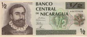 Nicaragua P.172 1/2 Cordoba (1992) (1)