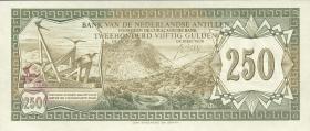 Niederl. Antillen / Netherlands Antilles P.13 250 Gulden 1967 (1)