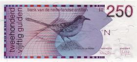 Niederl. Antillen / Netherlands Antilles P.27 250 Gulden 1986