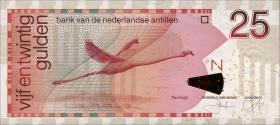Niederl. Antillen / Netherlands Antilles P.29d 25 Gulden 2006