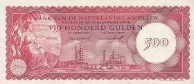 Niederl. Antillen / Netherlands Antilles P.07 500 Gulden 1962