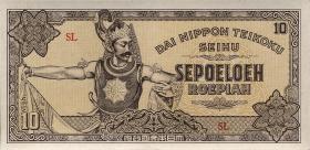 Ndl. Indien / Netherlands Indies P.131 10 Rupien (1944) (1)
