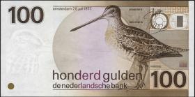 Niederlande / Netherlands P.097 100 Gulden 1977 (1981) (1/1-)