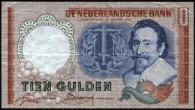 Niederlande / Netherlands P.085 10 Gulden 1953 (3)