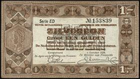 Niederlande / Netherlands P.061 1 Gulden 1940 (2+)