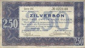 Niederlande / Netherlands P.062 2,50 Gulden 1938 (1-)