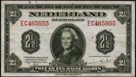Niederlande / Netherlands P.065 2,50 Gulden 1945 (3)