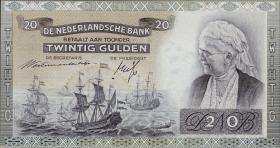 Niederlande / Netherlands P.054 20 Gulden 1941 (1)
