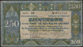 Niederlande / Netherlands P.018 2,50 Gulden 1922 (3)