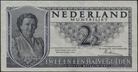 Niederlande / Netherlands P.073 2,50 Gulden 1949 (3)