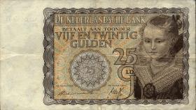 Niederlande / Netherlands P.057 25 Gulden 1940 (3)