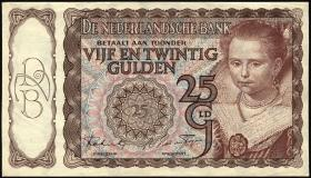 Niederlande / Netherlands P.060 25 Gulden 1944 (1/1-)