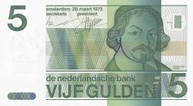 Niederlande / Netherlands P.095 5 Gulden 1973 (1)
