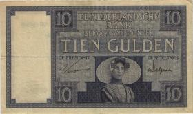 Niederlande / Netherlands P.043b 10 Gulden 5.1.1929 (3)