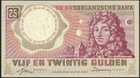 Niederlande / Netherlands P.087 25 Gulden 1955 (1)