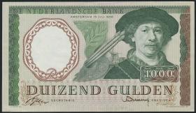 Niederlande / Netherlands P.089 1000 Gulden 1956 (2)