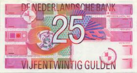 Niederlande / Netherlands P.100  25 Gulden 1989 (1-)