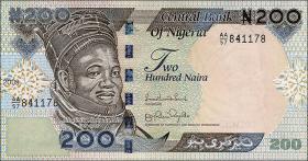Nigeria P.29h 200 Naira 2009 (1)