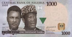 Nigeria P.36c 1000 Naira 2007 (1)