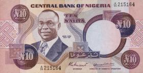 Nigeria P.21a 10 Naira (1979-84) (1)
