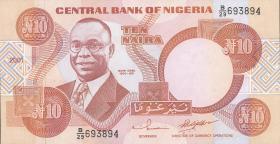 Nigeria P.25g 10 Naira 2001-2002 (1)