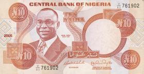 Nigeria P.25i 10 Naira 2005 (1)