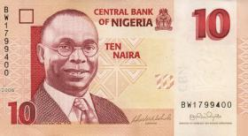 Nigeria P.33a 10 Naira 2006 (1)