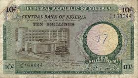 Nigeria P.07 10 Shillings (1967) (4)