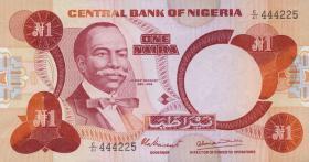 Nigeria P.19a 1 Naira (1979-84) (1)