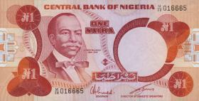 Nigeria P.19c 1 Naira (1979-84) (1)