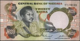 Nigeria P.18b 20 Naira (o.J.) (2)