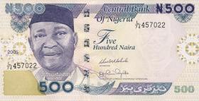 Nigeria P.30d 500 Naira 2005 (1)
