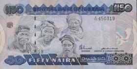 Nigeria P.27a 50 Naira (1991) (1/1-)