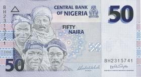 Nigeria P.35a 50 Naira 2006 (1)