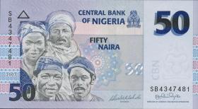 Nigeria P.35b 50 Naira 2007 (1)