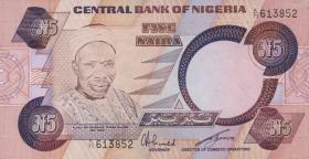 Nigeria P.24a 5 Naira (o.J.) (1)