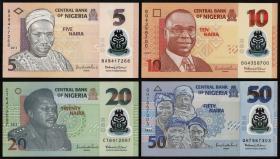 Nigeria P.Neu 5,10,20,50 Naira 2013 Polymer (1)