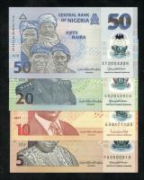 Nigeria 5 - 50 Naira 2019/20 (1) Polymer