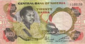 Nigeria P.18e 20 Naira (o.J.) (3)